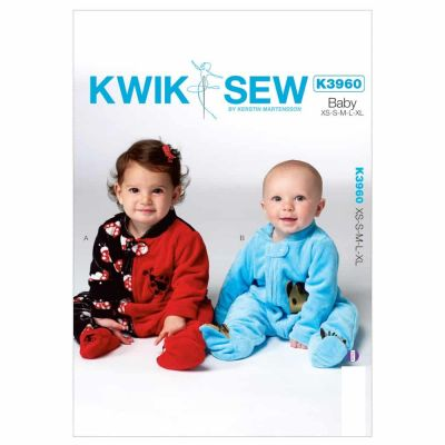 Kwik Sewing Pattern K3960 Infants' Sleeper