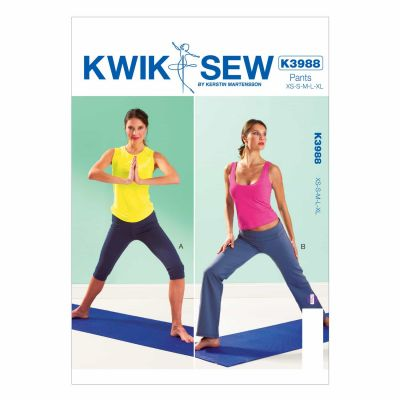 Kwik Sewing Pattern K3988 Misses' Pants
