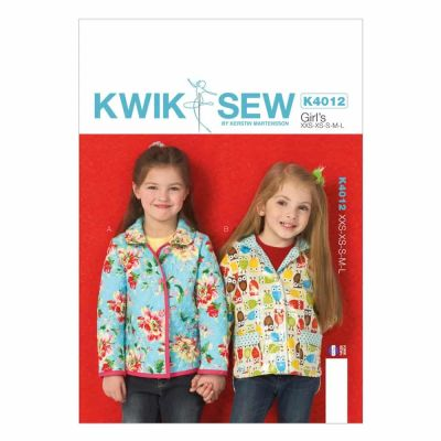 Kwik Sewing Pattern K4012 Girls' Lined Jackets