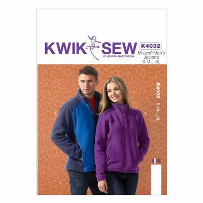 Kwik Sewing Pattern K4032 Misses'/Men's Jackets