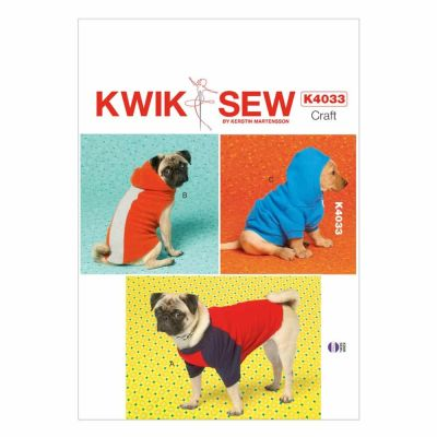 Kwik Sewing Pattern K4033 Dog Coats