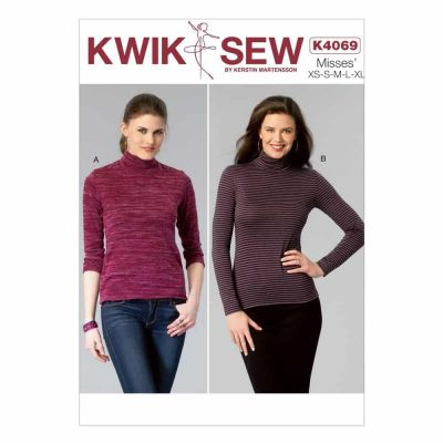 Kwik Sewing Pattern K4069 Misses' Tops