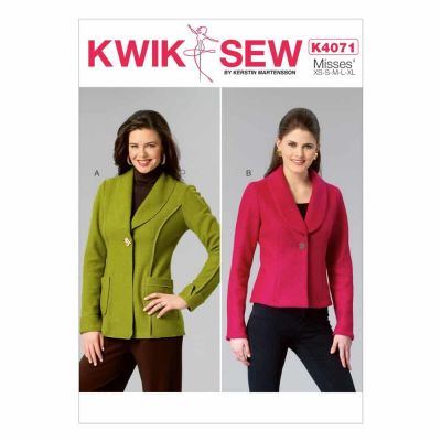 Kwik Sewing Pattern K4071 Misses' Jackets