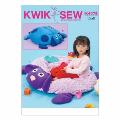 Kwik Sewing Pattern K4078 Lamb & Dog Ball Pit