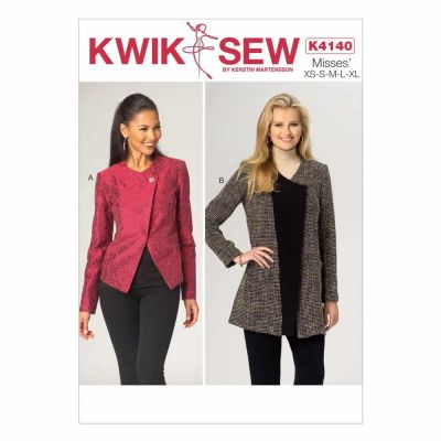 Kwik Sewing Pattern K4140 Misses' Jackets