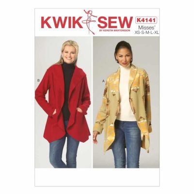 Kwik Sewing Pattern K4141 Misses' Jackets