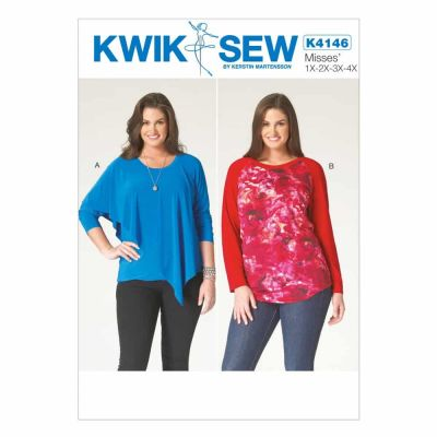 Kwik Sewing Pattern K4146 Women's Tops