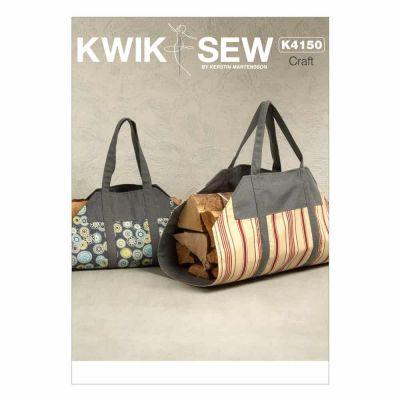 Kwik Sewing Pattern K4150 Log Carrier In 2 Sizes