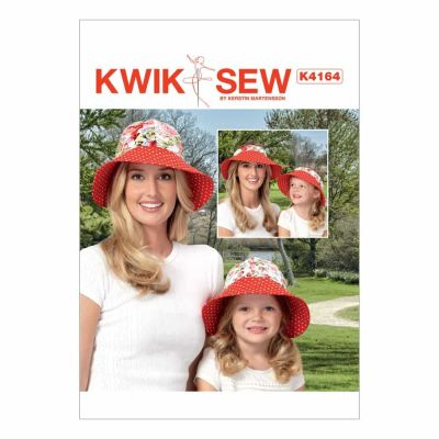 Kwik Sewing Pattern K4164 Misses'/Girls' 2-in-1 Hat and Visor
