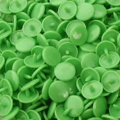 Gloss Kam Snaps - Size 20 - B14 Spring Green - 100 Sets