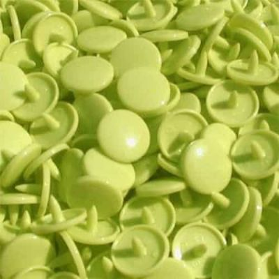 Matt Kam Snaps - Size 20 - B44 Apple Green - 100 Sets