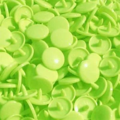 Gloss Kam Snaps - Size 20 - B50 Lime Green - 100 Sets