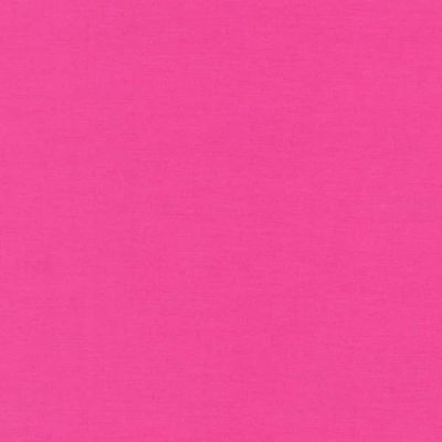Robert Kaufman Kona Cotton Solid - Bright Pink