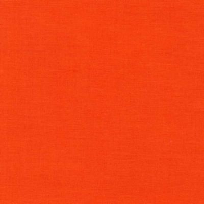 Robert Kaufman Kona Cotton Solid - Tangerine