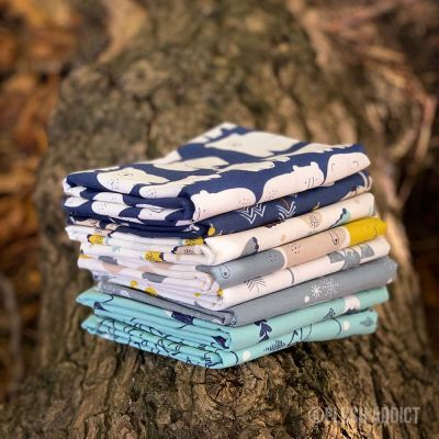 Dashwood Studio - Laska - Fat Quarter Bundle - 8 Fabrics