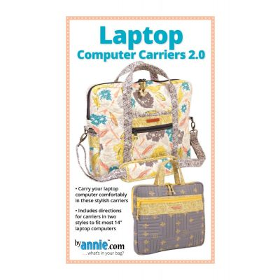 ByAnnie Sewing Pattern -   Laptop Computer Carriers Pattern