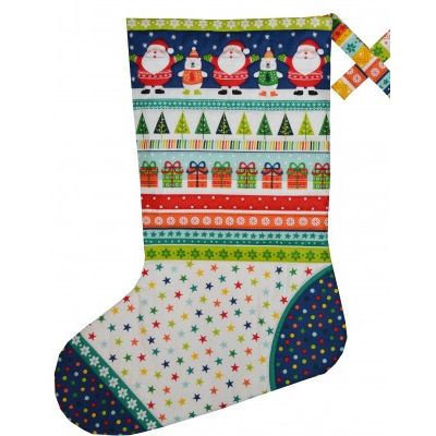 Makower Free Craft Pattern - Large Stocking Instructions