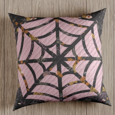 Art Gallery Fabrics  - Spooky N Sweet - Lunas Web Cushion - Free Download
