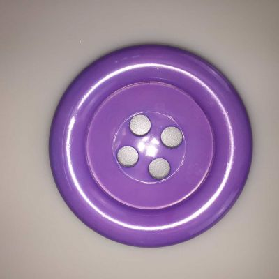 Lavender Extra Large Clown Buttons Size 80L - 51mm