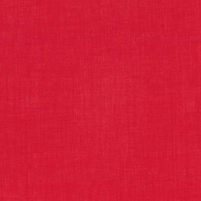 Solid Colour Plain Cotton Lawn Fabric - Red