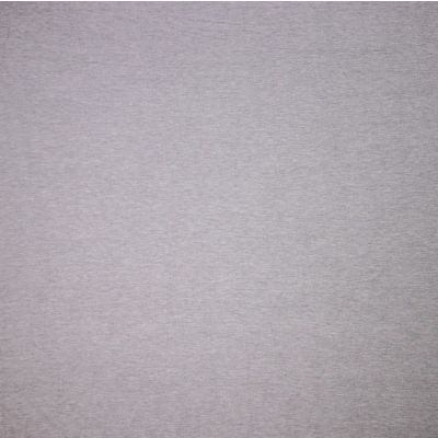 Solid Colour Bamboo Jersey Fabric - Light Grey Melange