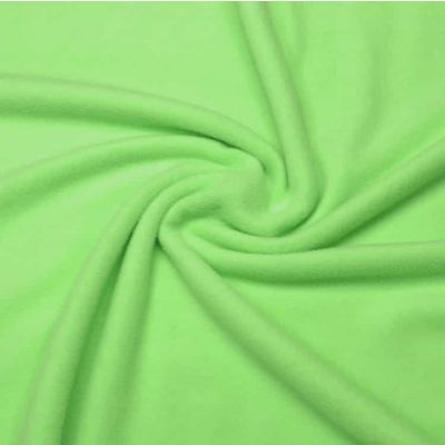 Lime Polar Fleece Fabric