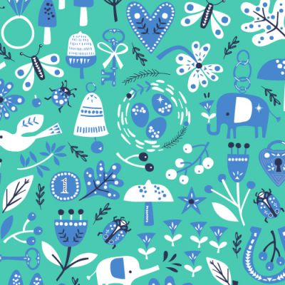 Dashwood Lost Treasures Trinkets Teal Cut Length