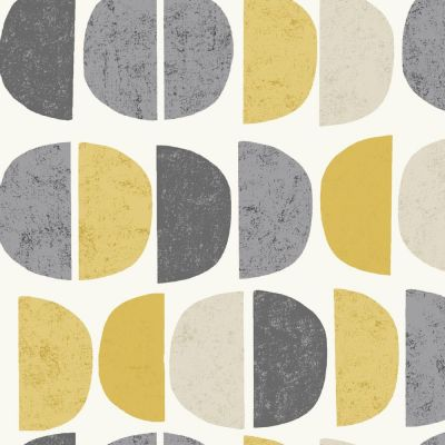 Luna - Ochre - Curtain Fabric