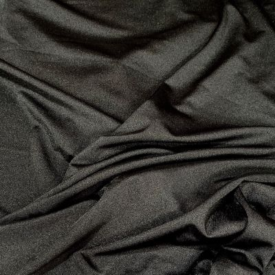 Black 4 Way Stretch Lycra Fabric