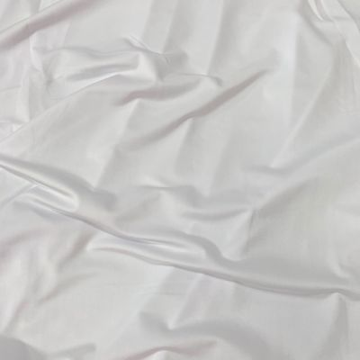White 4 Way Stretch Lycra Fabric