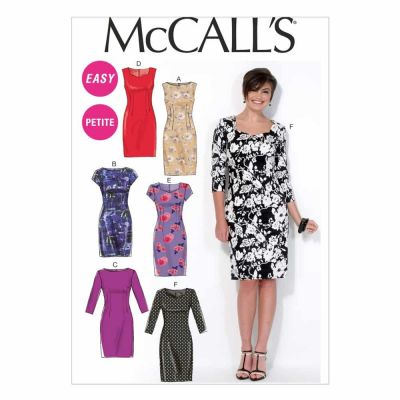 McCalls Sewing Pattern M7085 Misses'/Miss Petite Dresses