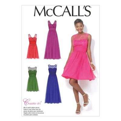 McCalls Sewing Pattern M7090 Misses'/Women's Dresses