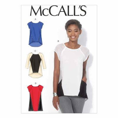 McCalls Sewing Pattern M7093 Misses' Tops and Tunic