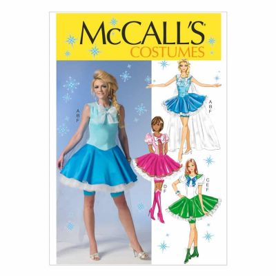 McCalls Sewing Pattern M7101 Misses' Costumes