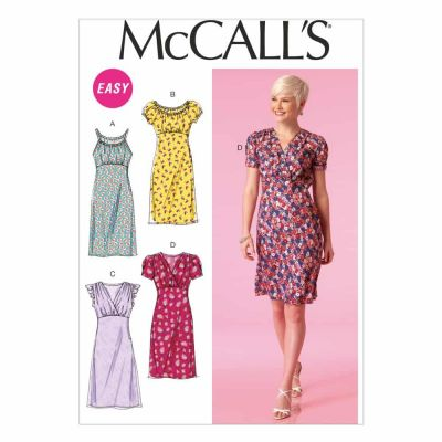 McCalls Sewing Pattern M7116 Misses' Dresses
