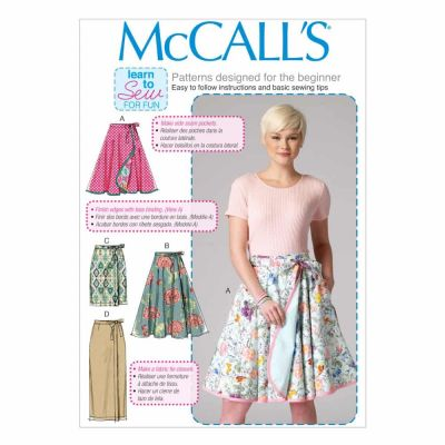 McCalls Sewing Pattern M7129 Misses' Skirts