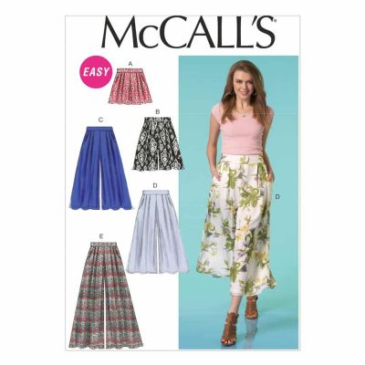 McCalls Sewing Pattern M7131 Misses' Shorts and Pants