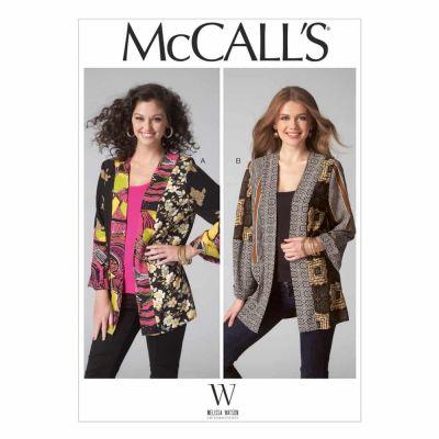 McCalls Sewing Pattern M7132 Misses' Jackets