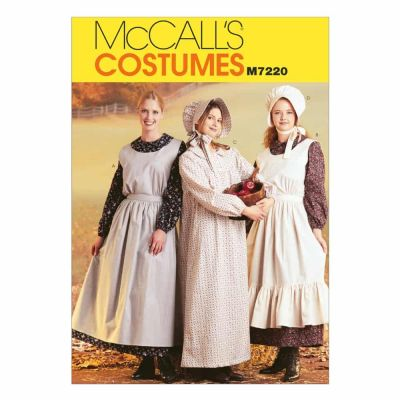 McCalls Sewing Pattern M7220 Misses' Pioneer Costumes