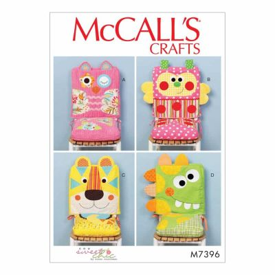 McCalls Sewing Pattern M7396 Animal-Motif Chair Covers and Seat Cushions