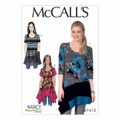 McCalls Sewing Pattern M7413 Misses'/Women's Tops
