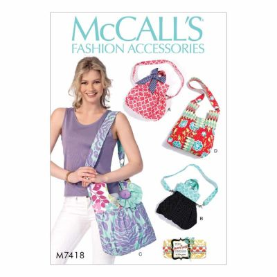 McCalls Sewing Pattern M7418 Bags