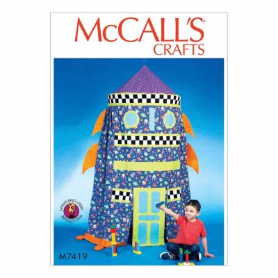 Remnant - McCalls Sewing Pattern M7419 - Craft - Play Tent - End of Line