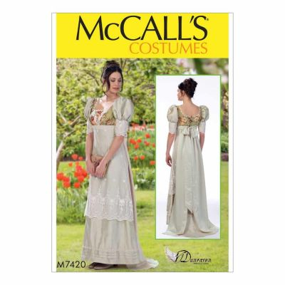 McCalls Sewing Pattern M7420 Misses' Costume