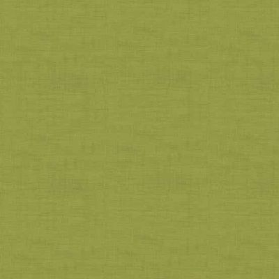 Makower Linen Texture Moss Green Cut Length