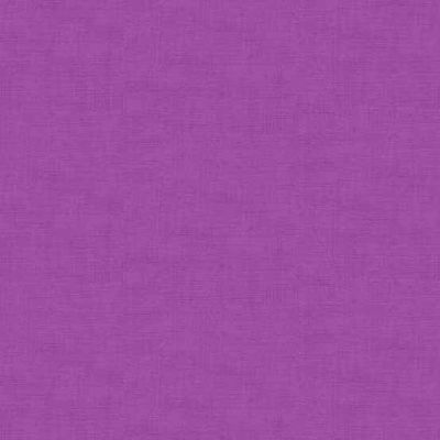 Makower Linen Texture Hyacinth Cut Length