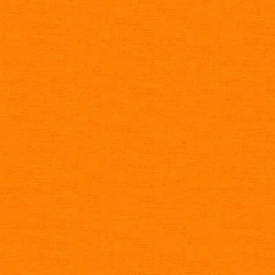 Makower Linen Texture Orange Cut Length