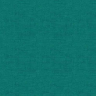 Makower Linen Texture Teal Cut Length