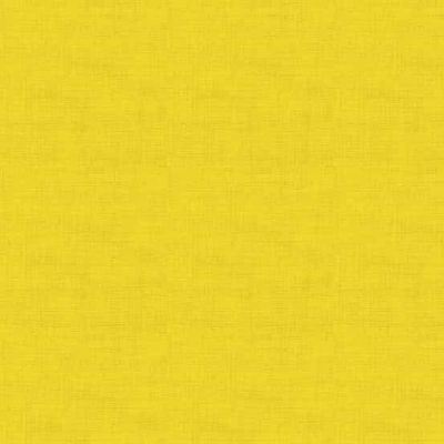 Makower Linen Texture Yellow Cut Length