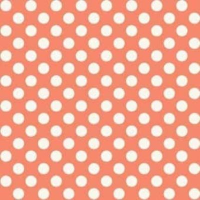 Makower Polka Dots Vintage Pink Cut Length